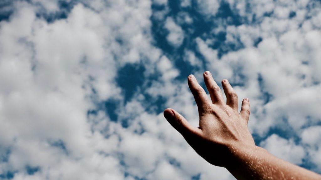 el brazo de jehova, la mano de Dios