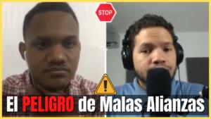 El peligro de malas alianzas, podcast cristiano, enlazate
